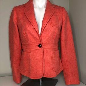 J Crew Robert Noble Scottish Wool Blazer